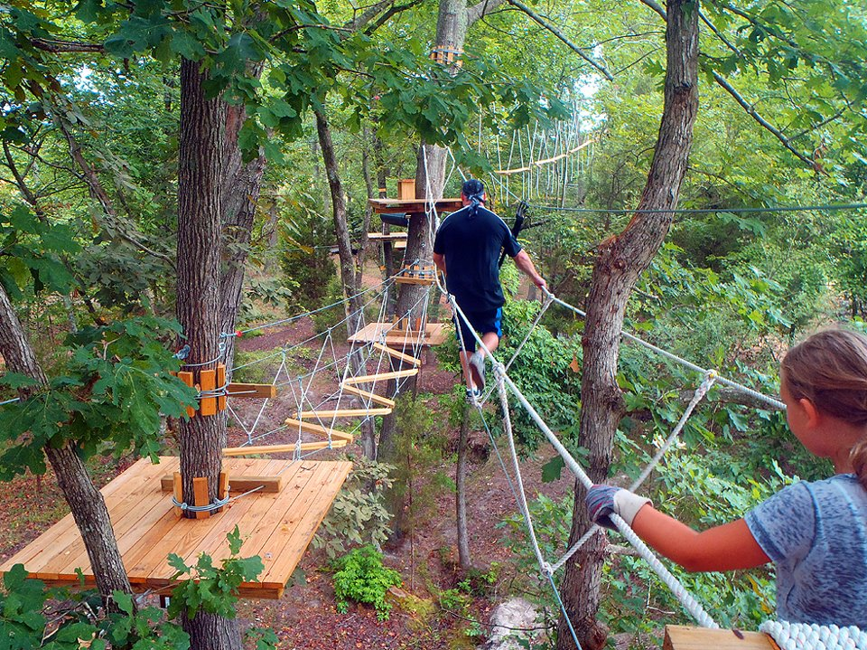 Photo courtesy of The Adventure Park At Sandy River Retreat